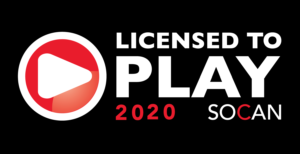 Licensed to Play | 2020 SOCAN