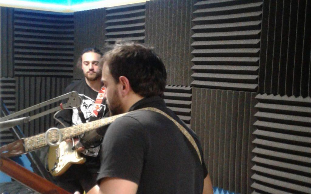 Diego Occhicone and Alessio Occhicone in the CKMS Studio