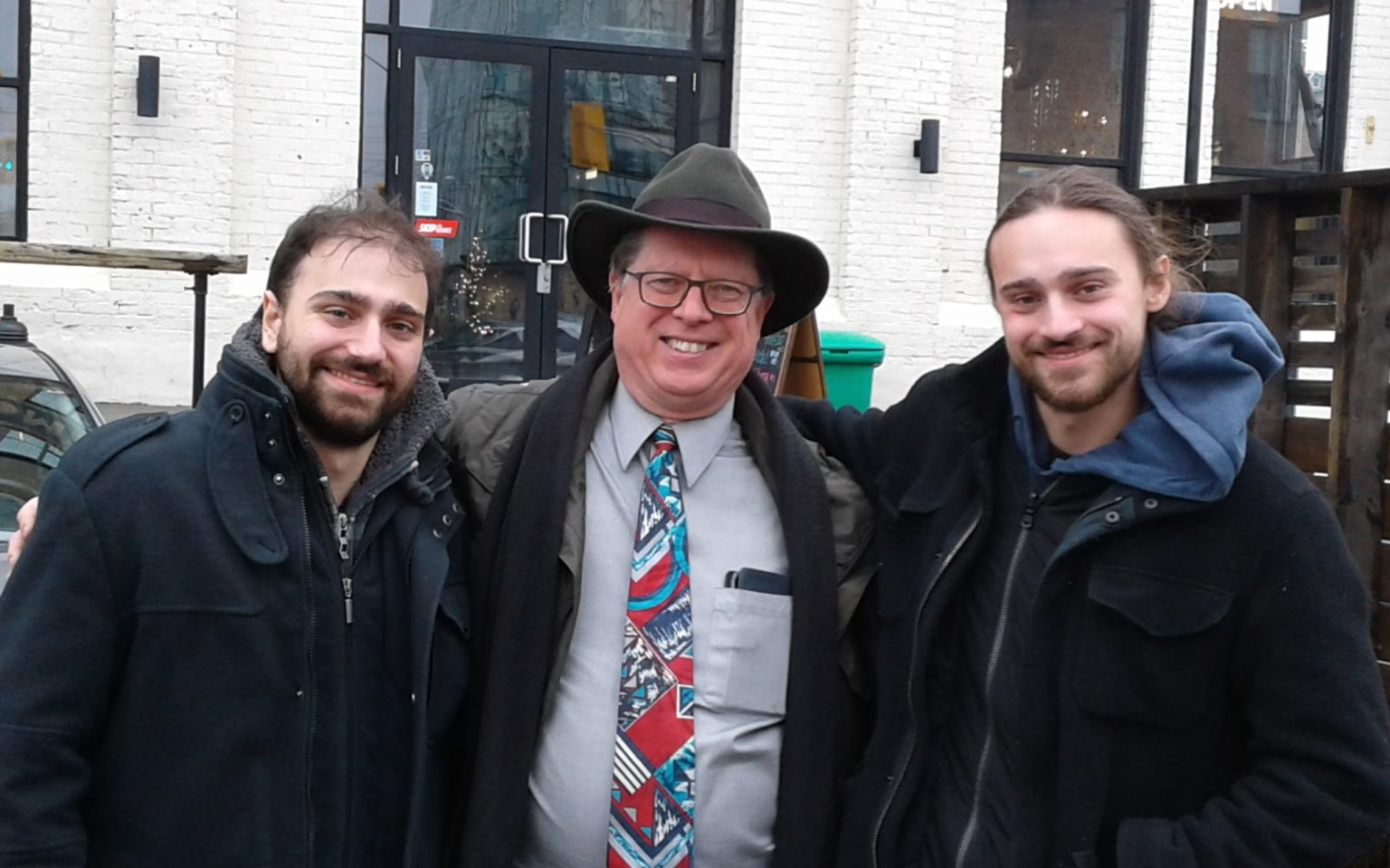 Alessio Occhicone, Bob Jonkman, and Diego Occhicone
