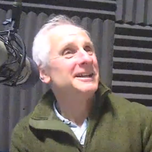 Bruce Mutton at the microphone