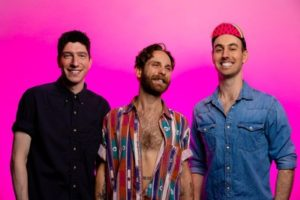 Three members of the Cory Hotline band