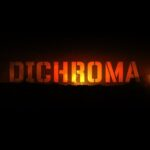 Dichroma (orange letters on black background)