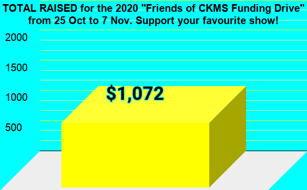 Friends of CKMS Funding Drive 2020