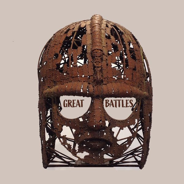 Great Battles (a wicker helmet with two words in the eyeholes)