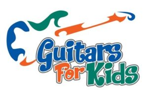 Guitars For Kids (illustration of a guitar)