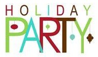 Holiday Party (in a festive font)