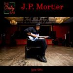 The Only Bar | J.P. Mortier (album cover) - J.P. Mortier sitting in an empty bar playing electric guitar