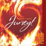 Passion + Music | Juneyt | Fuego (a swirl of red and yellow flames)