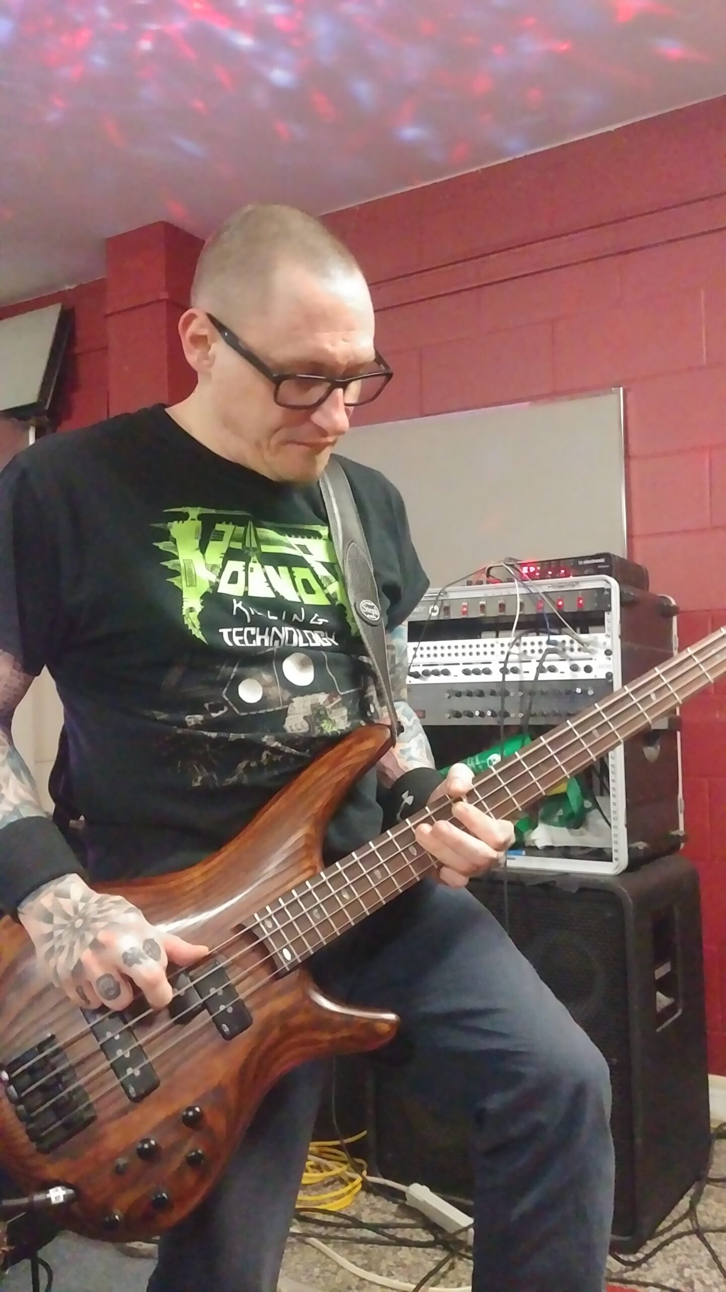 Kevin Paisley of Parallax Error on Bass