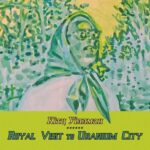 Kitz Willman | Royal Visit to Uranium City (solarized image of a woman wearing a headscarf)