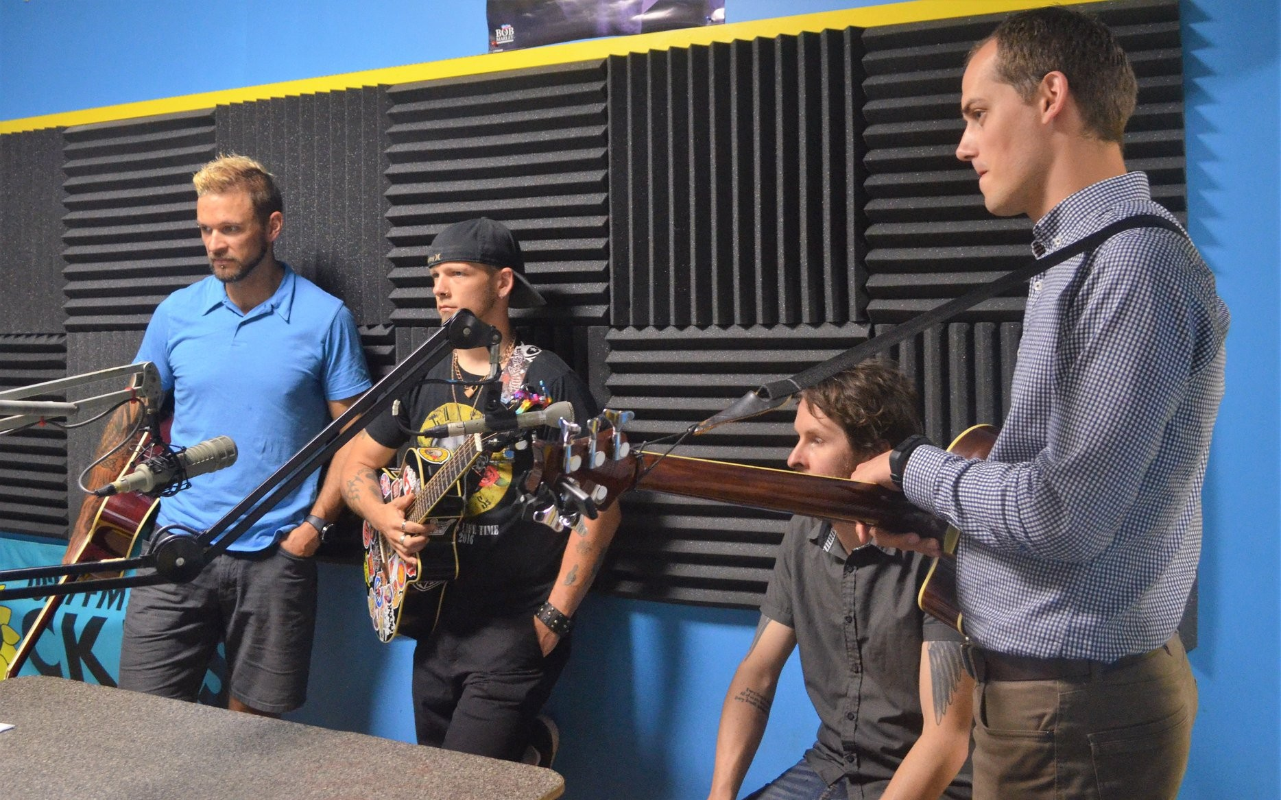 Marc Reilly, James Blacktop, Luke Ducharme, and Adom Postma