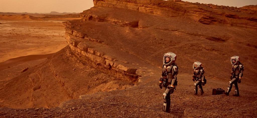 Pressure on Mars