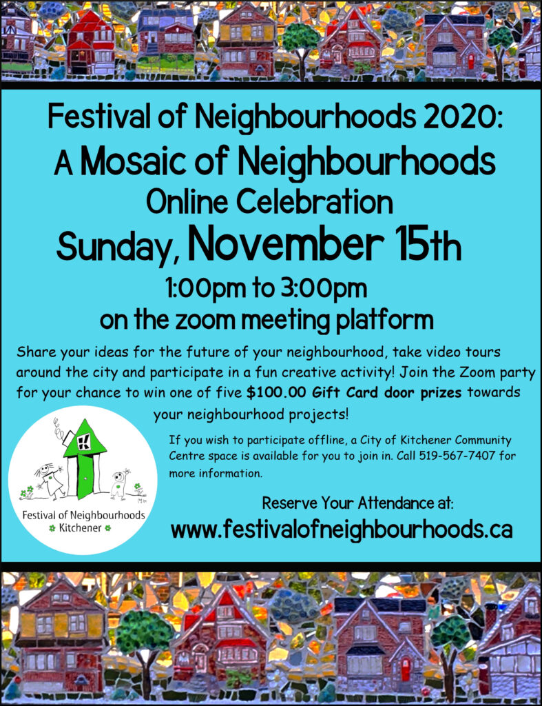 Festival of Neighbourhoods poster