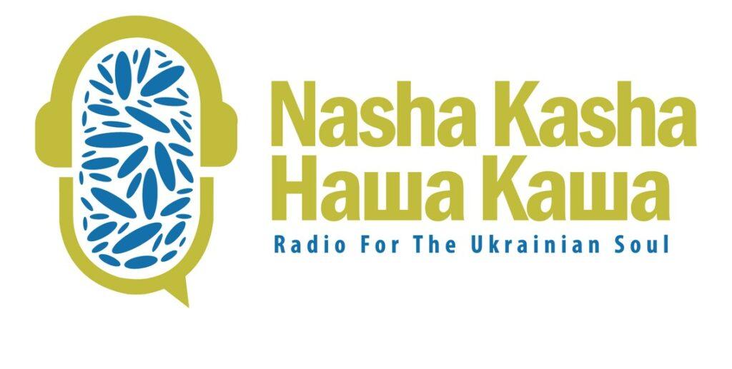 Nasha Kasha (with logo, and text also in Ukranian)