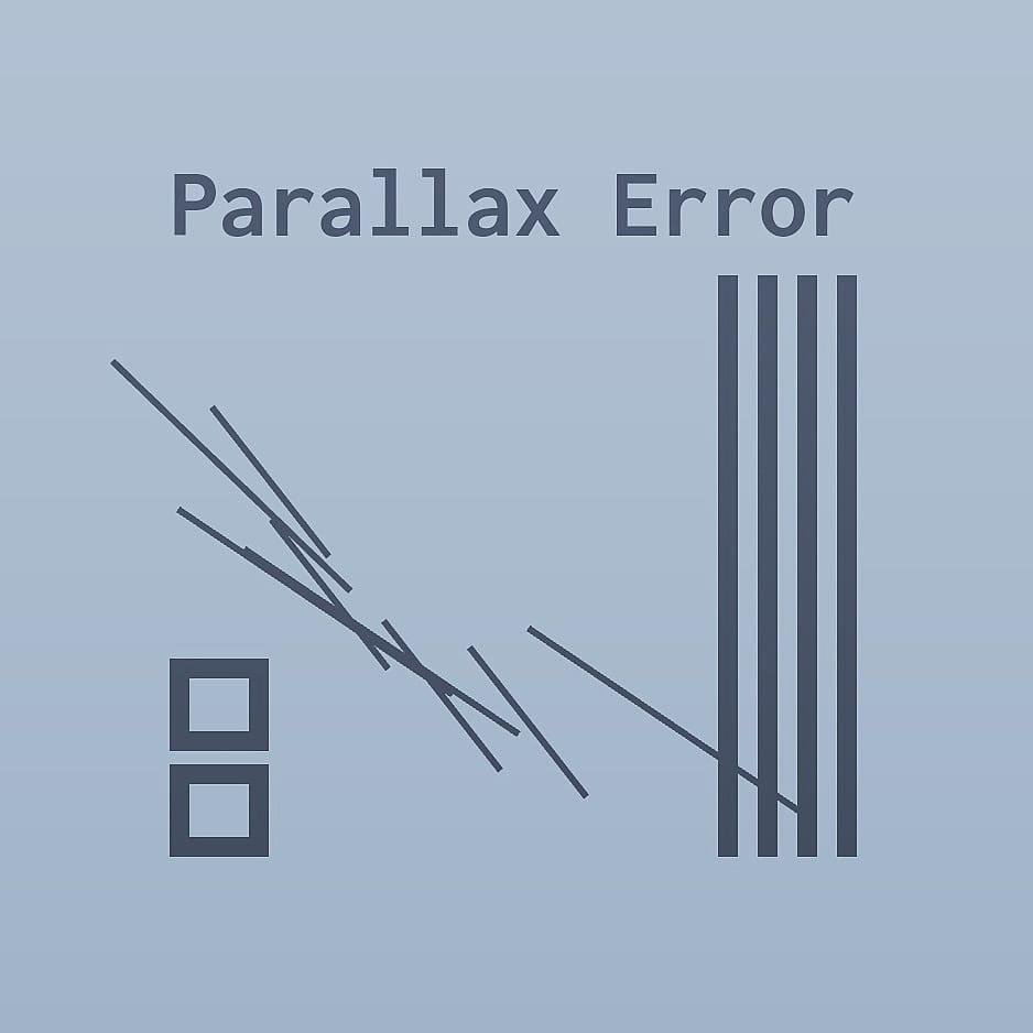 Parallax Error