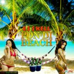 Esskell | Pon Di Beach (tropical beach with two bikini-clad women)
