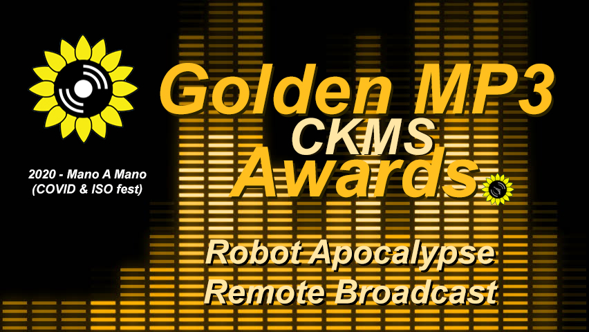 2020 Golden MP3 Awards: Robot Apocalypse Remote Broadcast