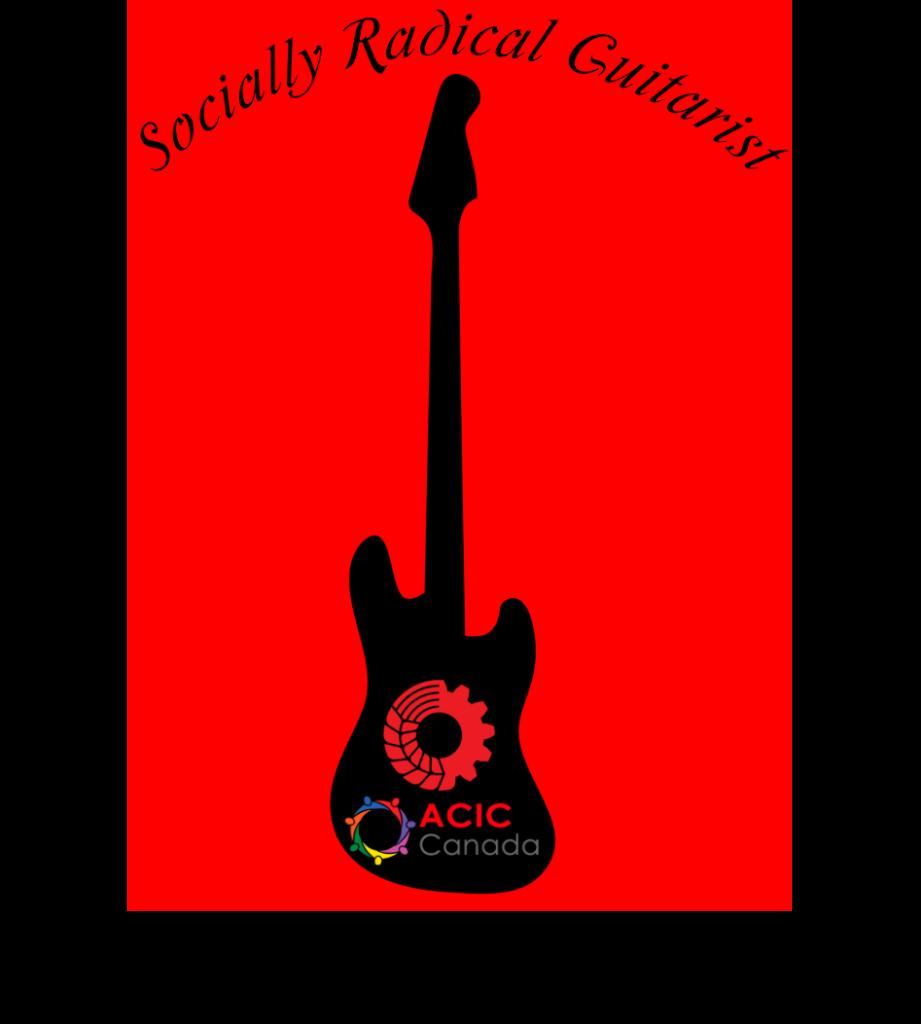 Socially Radical Guitarist Logo