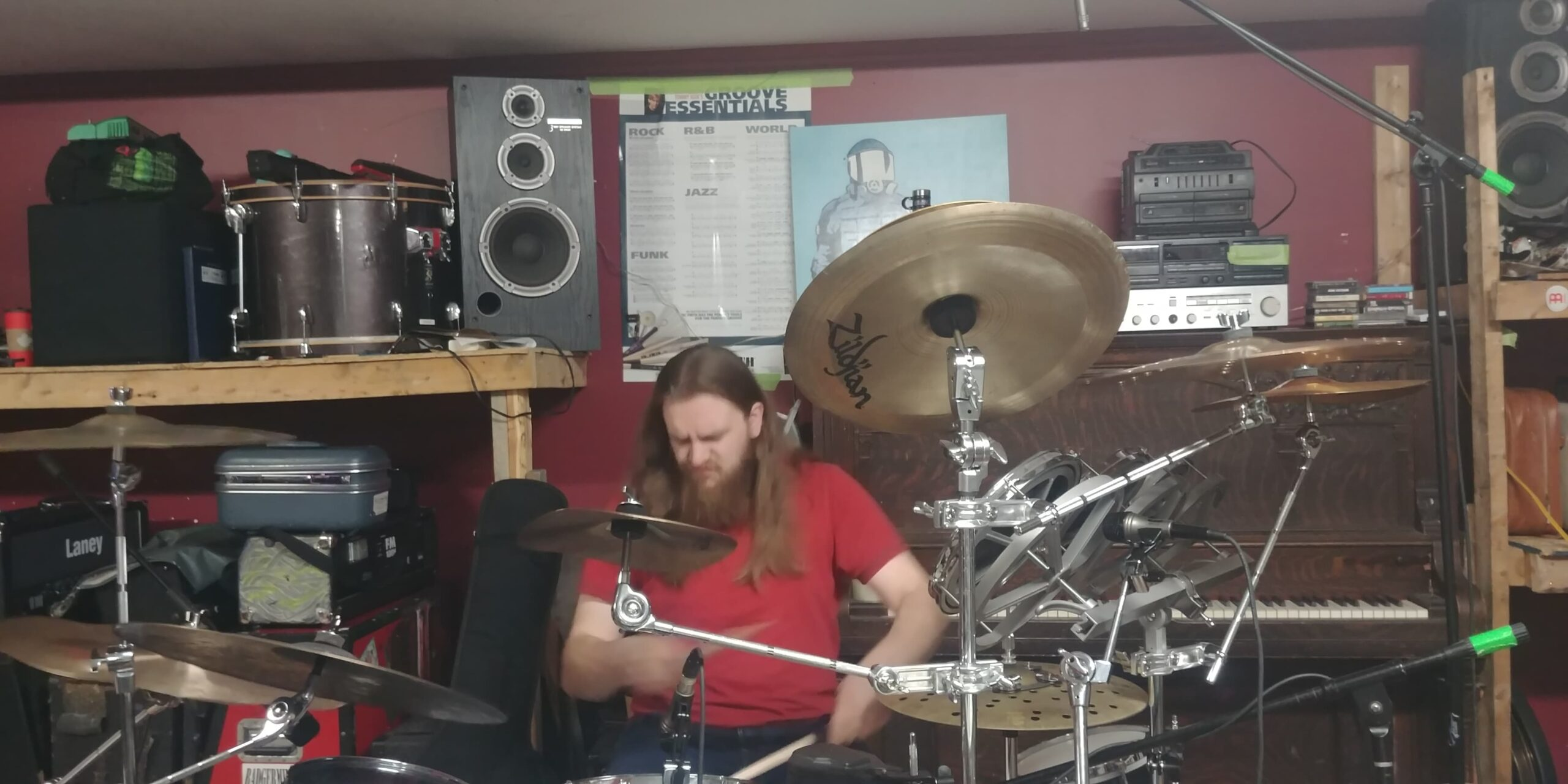 Sam Hill of Parallax Error gets into the music