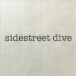 Sidestreet Dive (typewriter text on plain background)