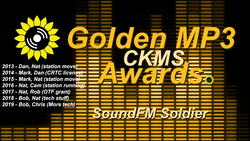 CKMS Golden MP3 Awards | SoundFM Soldier