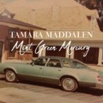 Tamara Madddalen | Mint Green Mercury (vintage photo of a mint green mercury automobile)
