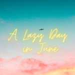 A Lazy Day In June (a bird files over pink clouds)