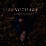 Sanctuary | Taylor Davison (Taylor Davison upside-down lying in leaves)