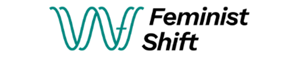 Feminist Shift (logo of two sine waves forming letters FS)