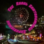 The Raoul Santodomingo Experience (nightscape of a carnival with fireworks, surrounded by the text in a circle around it)
