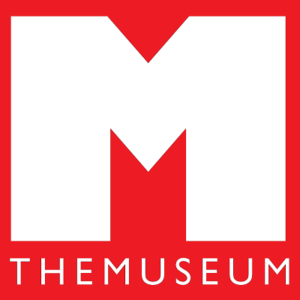M | THEMUSEUM (white M and text on a red background)