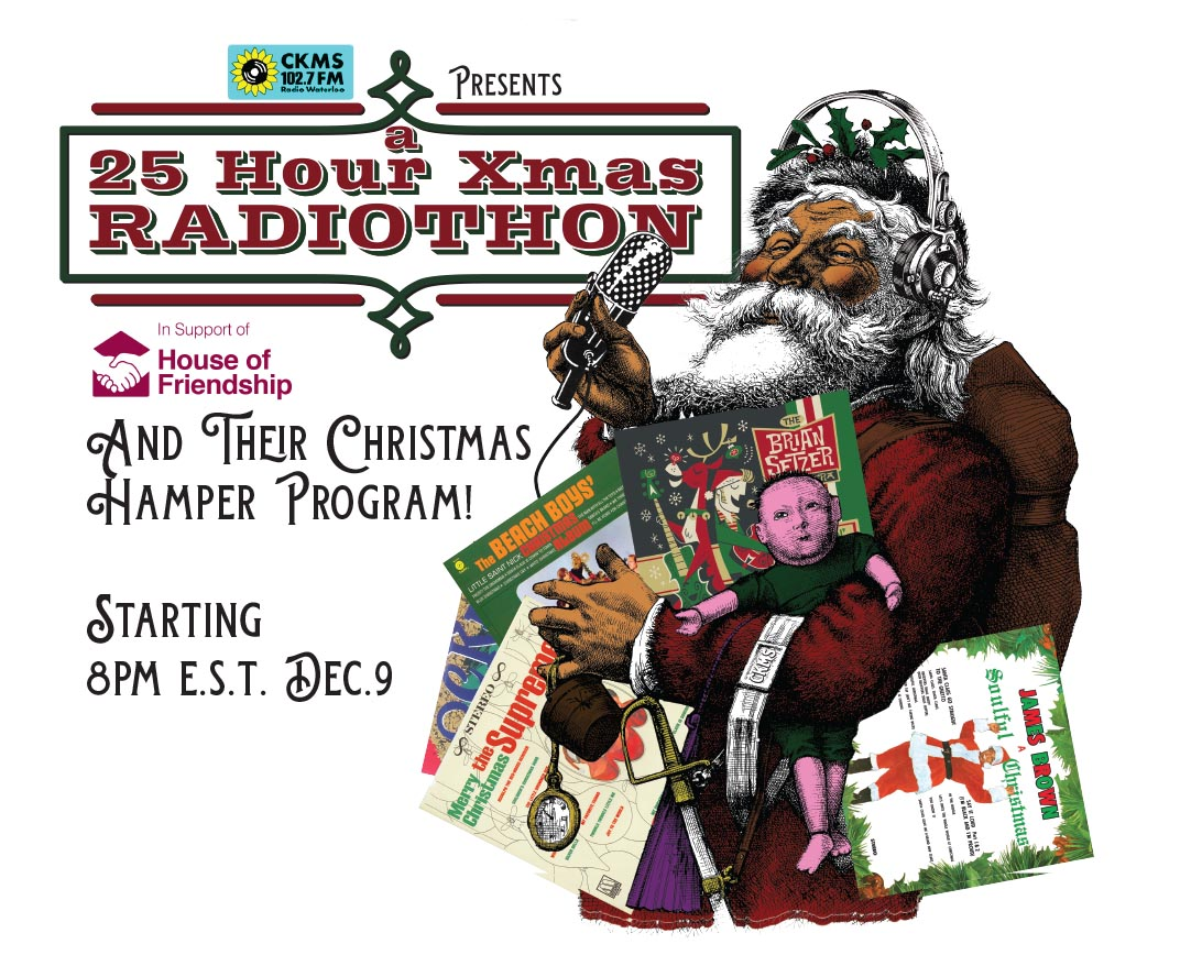 25 Hour Xmas Radiothon, 8pm 9 Dec 2020